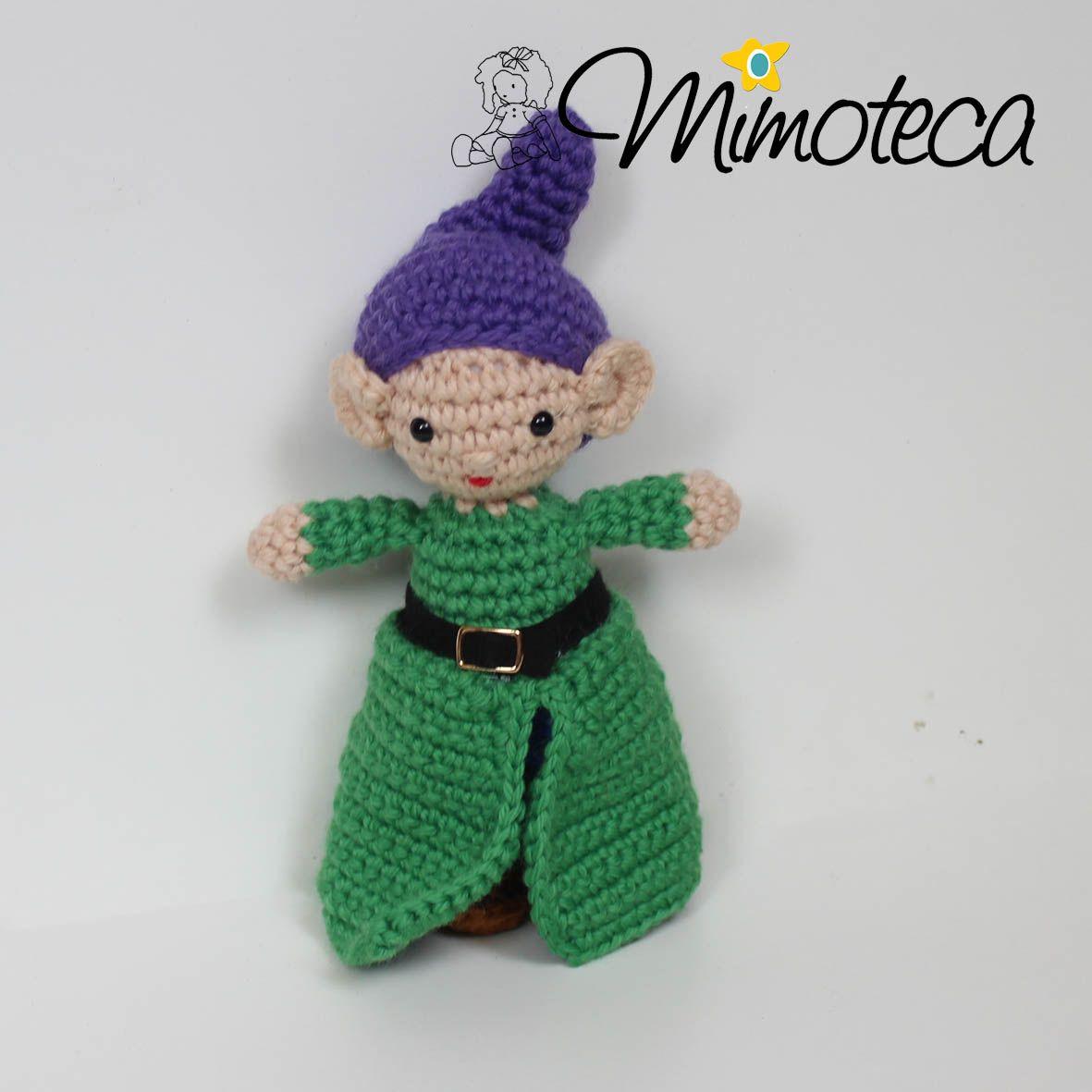 SETE ANÕES Mimos Personalizados Em Crochet! Queremos