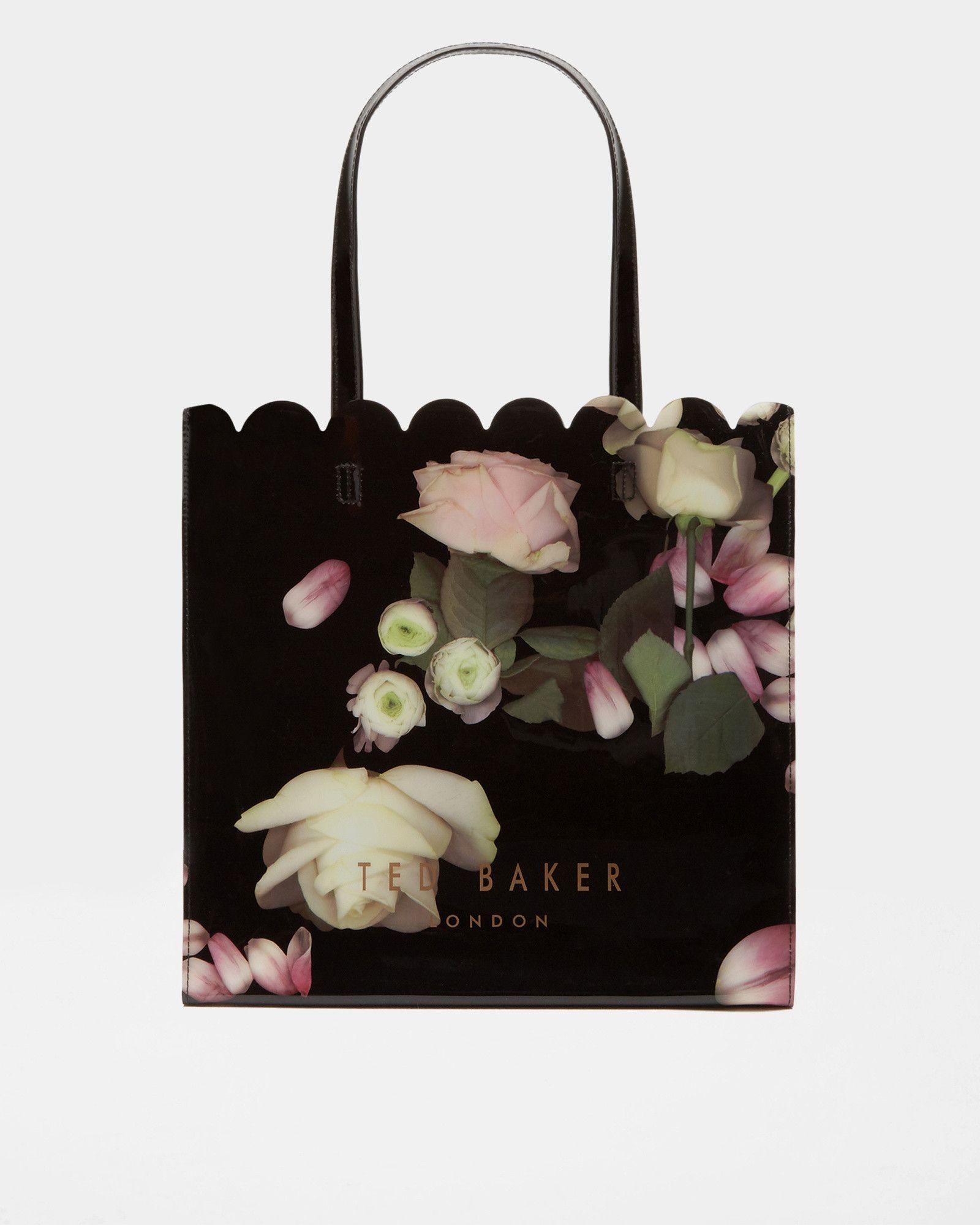 cc5772bc5 Kensington Floral large shopper bag - Black