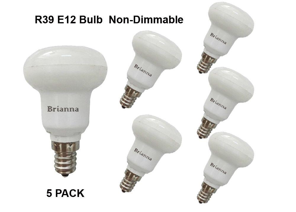 Free Shipping R39 Bulb 3w Small Led Bulbs Intermediate E12 Base Replaces 25w 270lm Cool White 5500k Cri 80 5pcs Pack A Small Led Bulbs Led Bulb Bulb