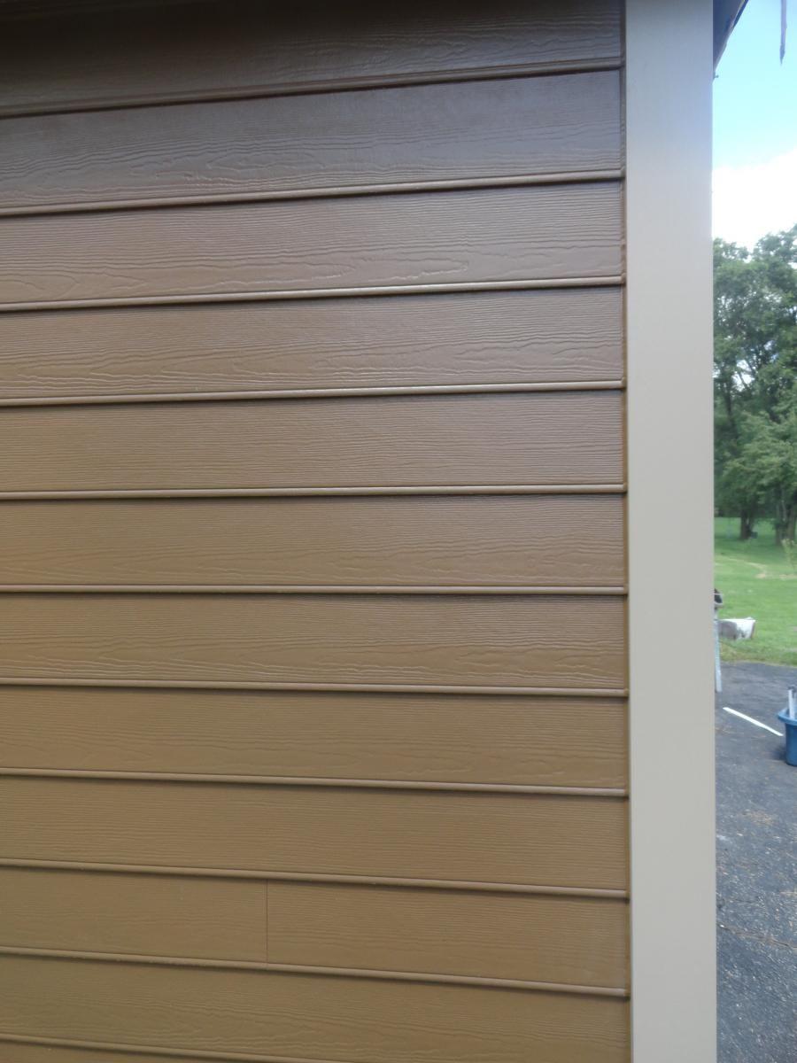 House colors on pinterest paint colors craftsman and james hardie - James Hardie Beaded Lap Siding Chestnut Brown James Hardie Trim Khaki Brown Installed