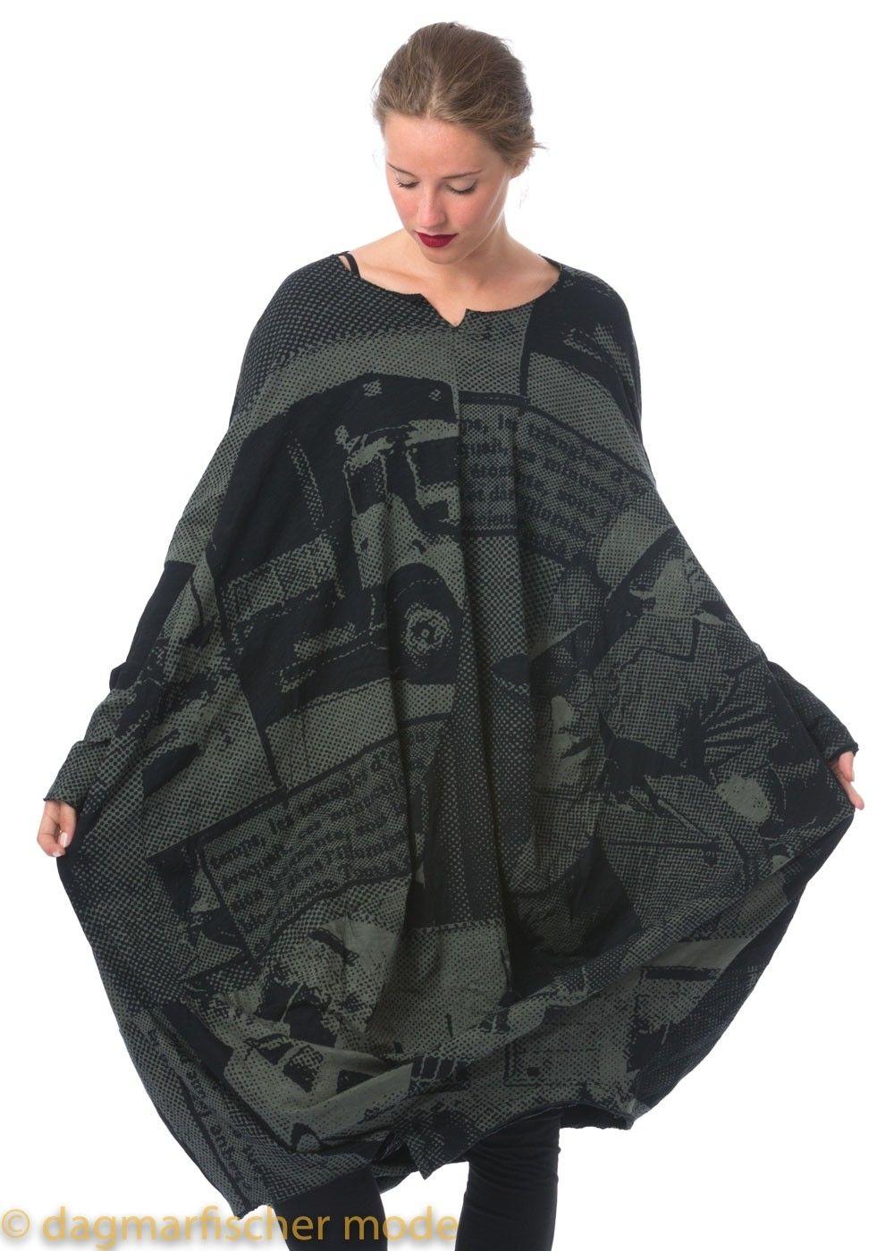 c5feb9d6f011ab Überdimensionales Kleid. Oversize dress by RUNDHOLZ BLACK LABEL in black or  different colors - dagmarfischermode.de