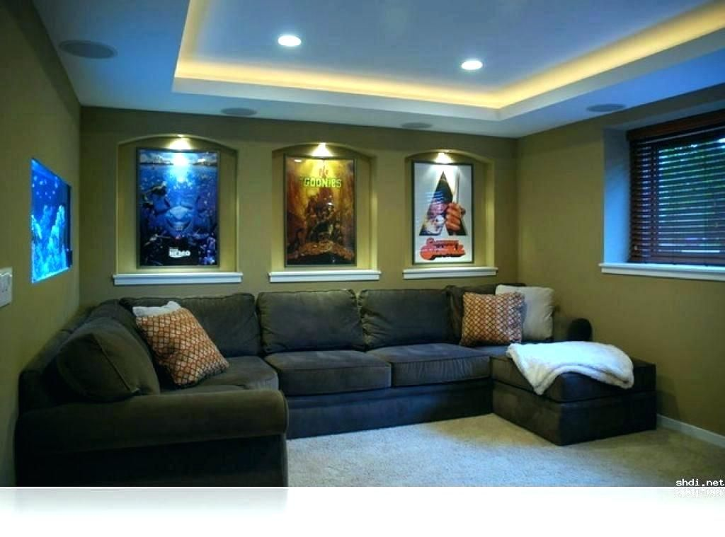 Small Media Room Ideas Decorating Rec For On A Budget