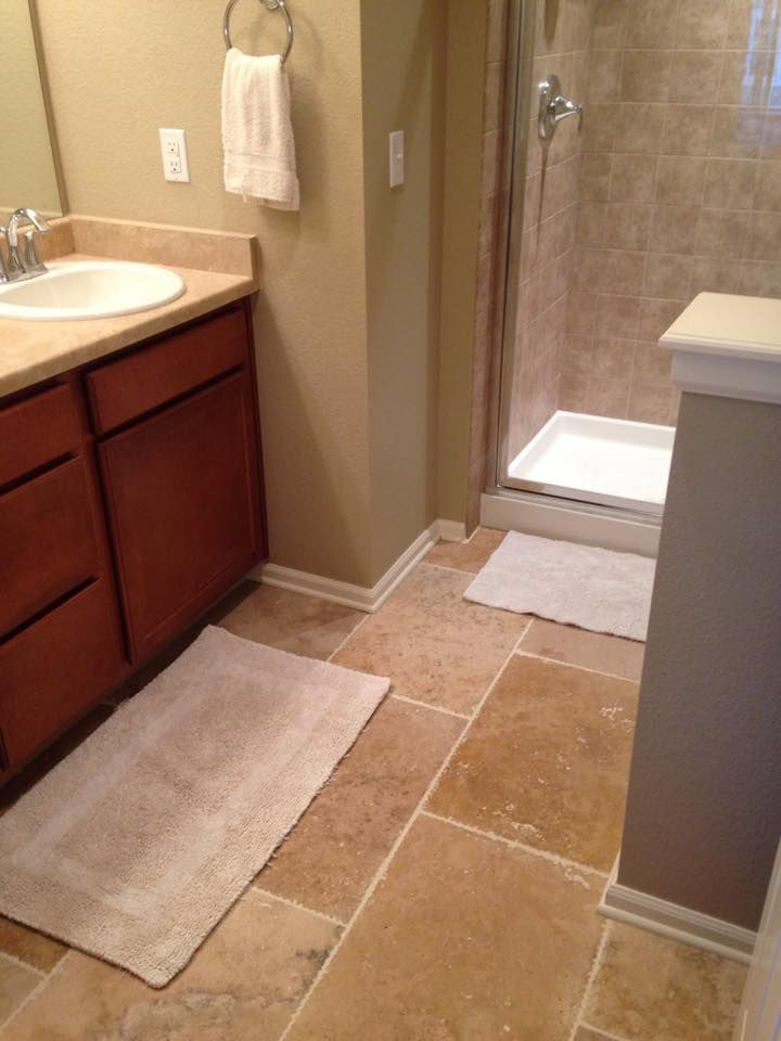 Small Bathroom Ideas Make Your Look Ger With 16 X 24 Travertine