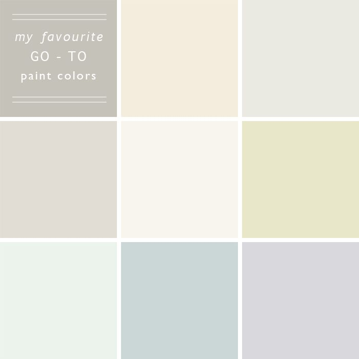 My 10 go to paint colors emily henderson tips and for Neutral wall paint colors
