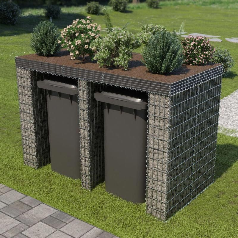 IN STOCK: Best Prices On Gabion Wall For Garbage Bin