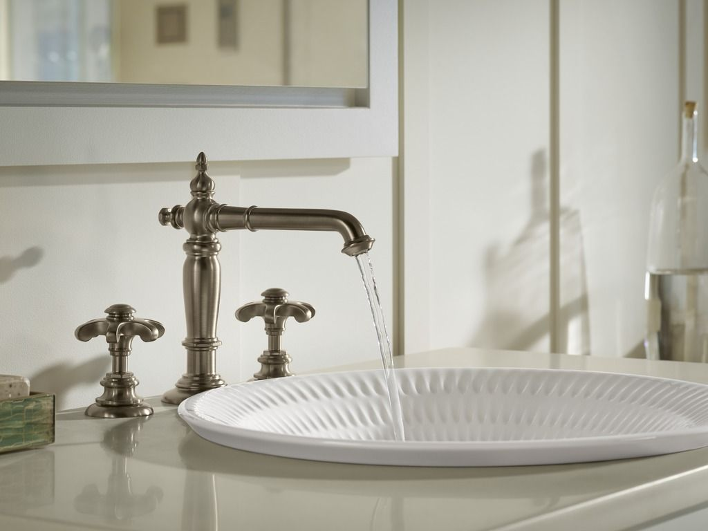 Sun-Bleached Bathroom | Bathroom inspiration, Faucet and Sinks
