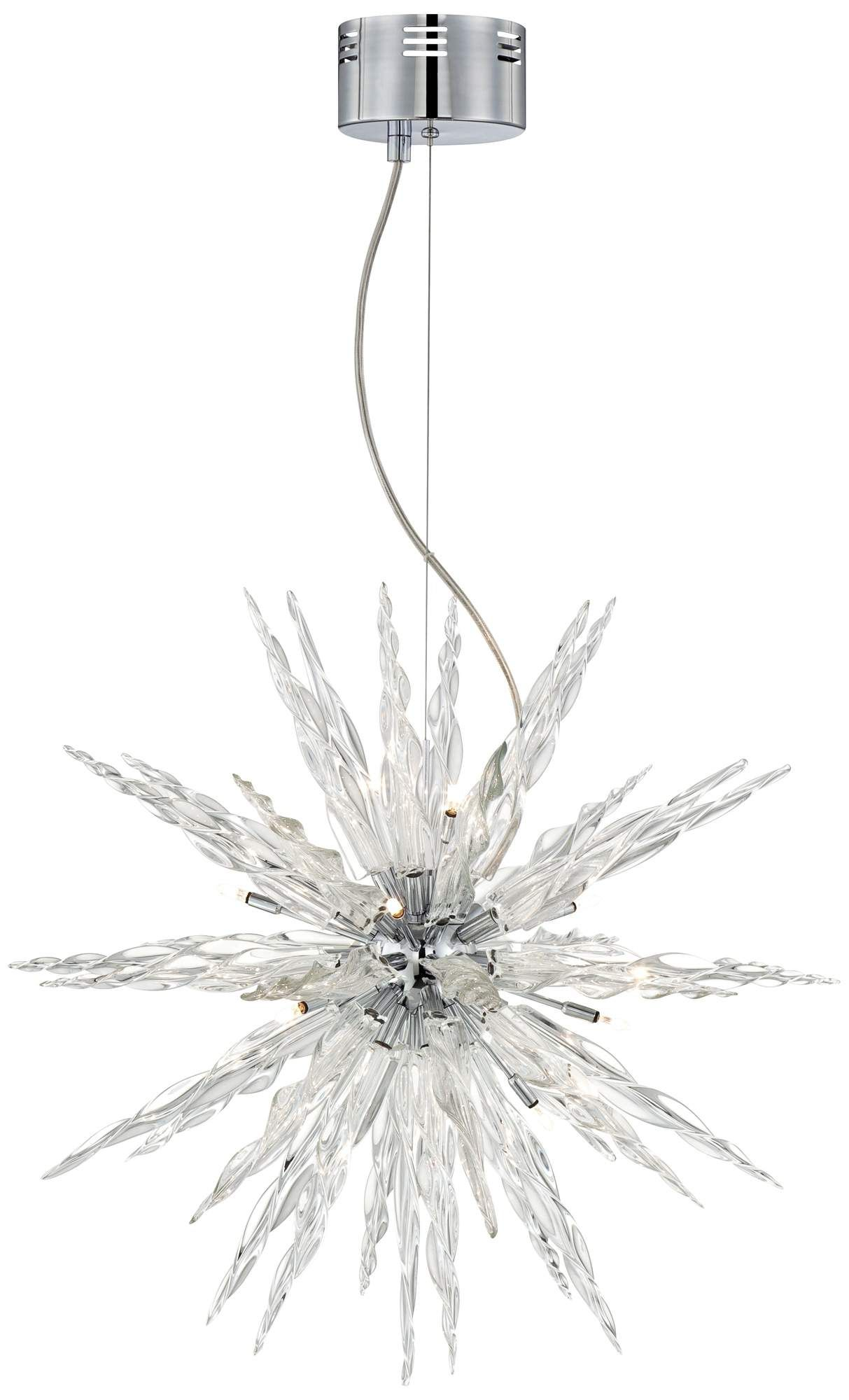 Good Possini Euro Design Glass Icicle Pendant Light | 55DowningStreet.com Design Ideas