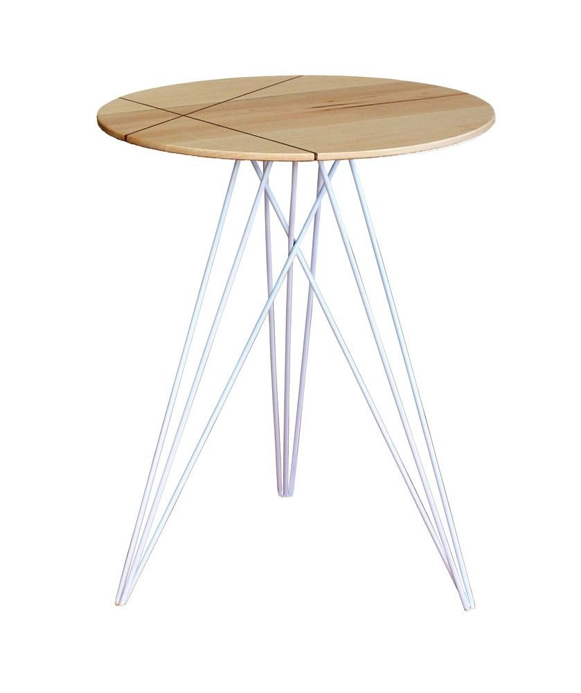 Tronk Design Hudson Table With Inlay Side End Tables Living End Tables Side Table Hudson Table
