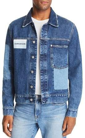 915c1d58 Calvin Klein Jeans Patchwork Trucker Jacket | Products | Calvin ...