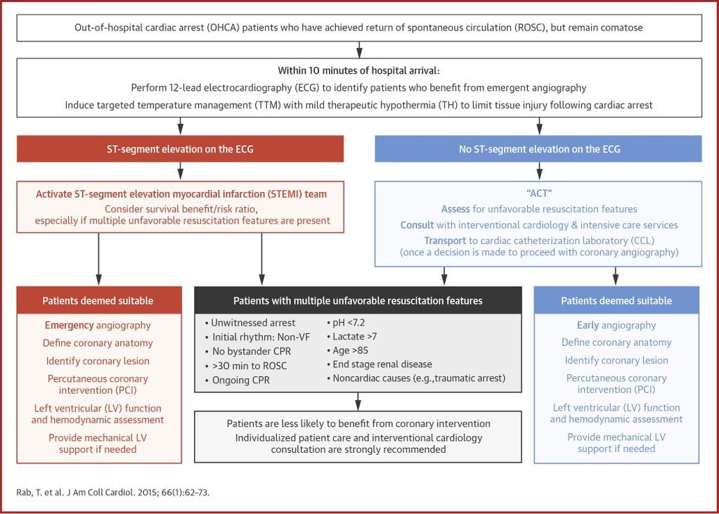 New algorithm from @ACCinTouch and @AHA on risk stratification in comatose AMI patients  http://ow.ly/PwHi1