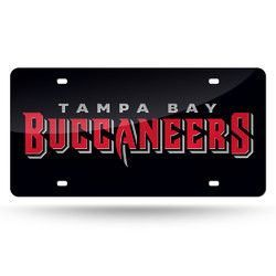 Tampa Bay Buccaneers NFL Laser Cut License Plate Cover Colored
