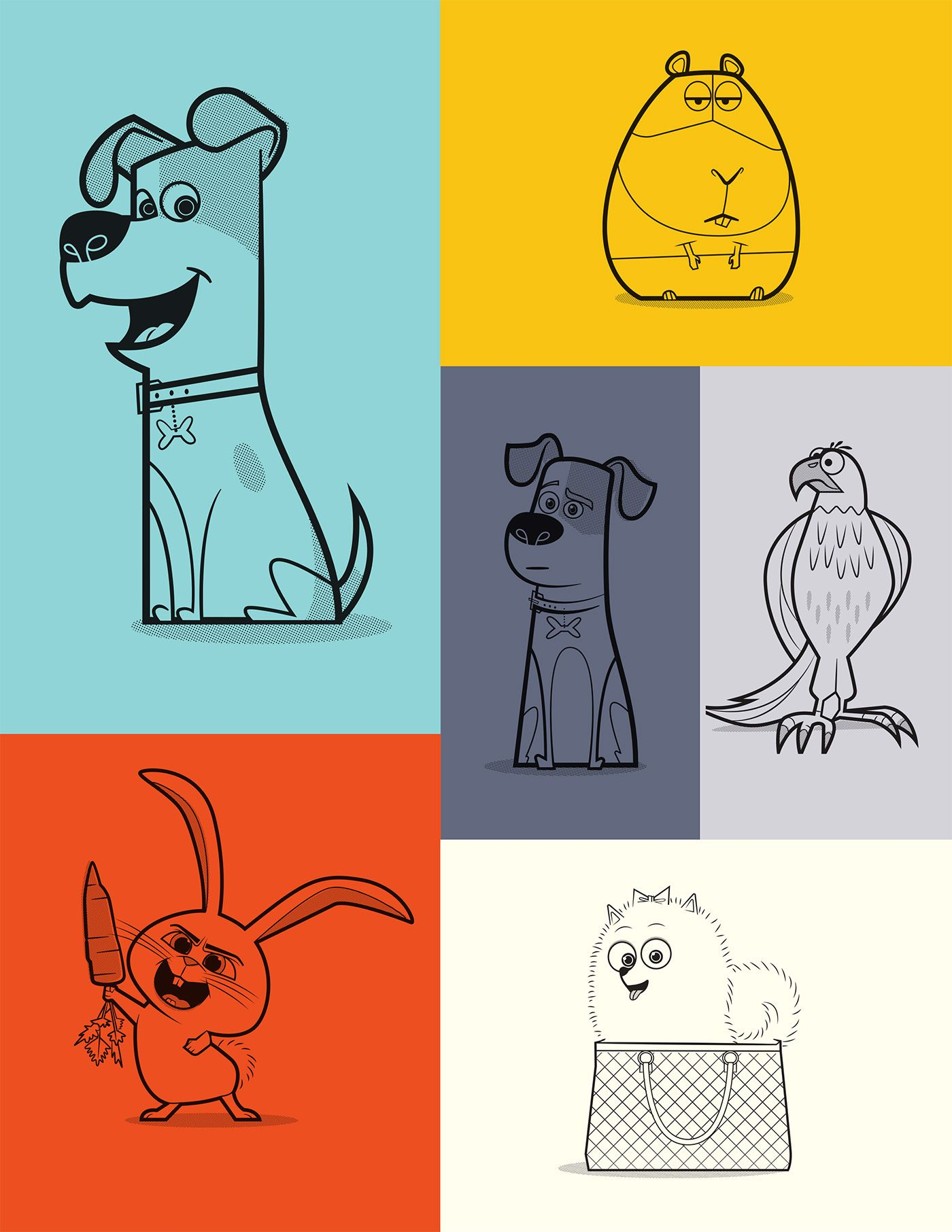 """Check out this @Behance project: """"Pets"""" https://www.behance.net ..."""