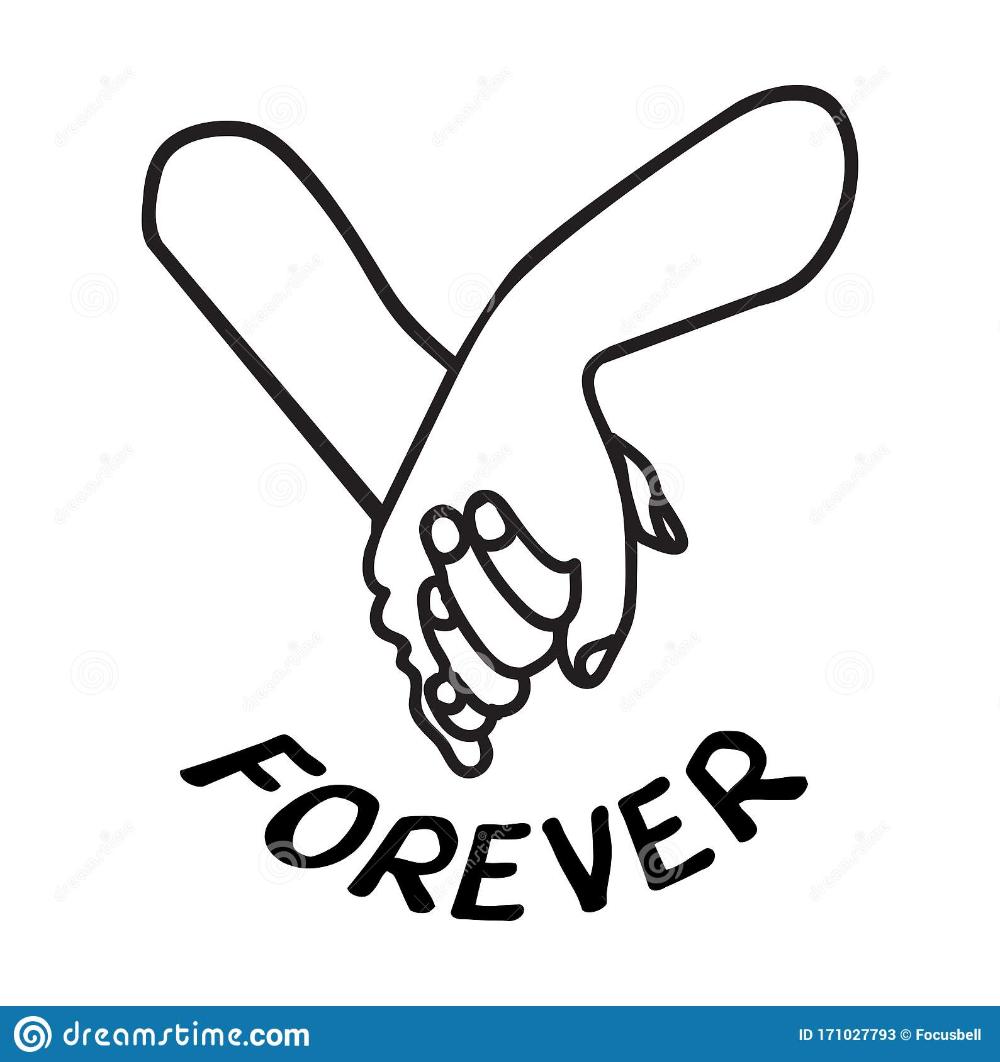 Lovely Couple Holding Hands Promise Icon Stock Vector Illustration Of Black Eps10 171027793 Hand Logo Couple Holding Hands Vector