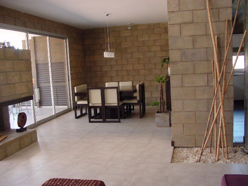 Casas De Bloques De Cemento Pintadas