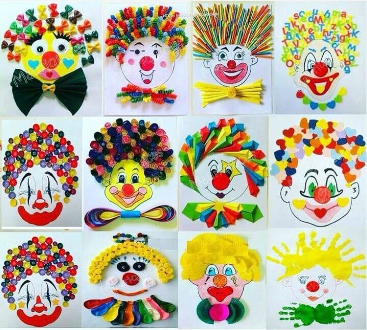 Clowns activity