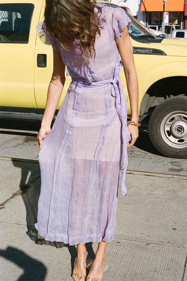 Lavender and yellow looks so good together.