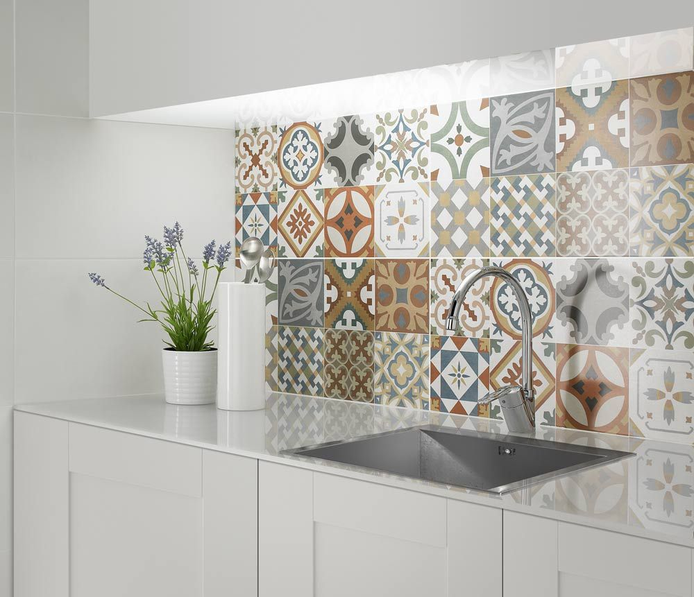 Kitchen Wall Tile Backsplash: Create A Summery Kitchen With Moroccan Tiles