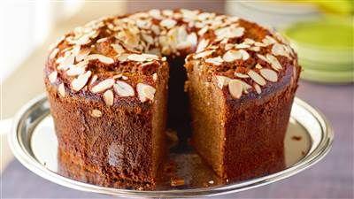 Ina Garten uses bourbon to spice up her honey cake