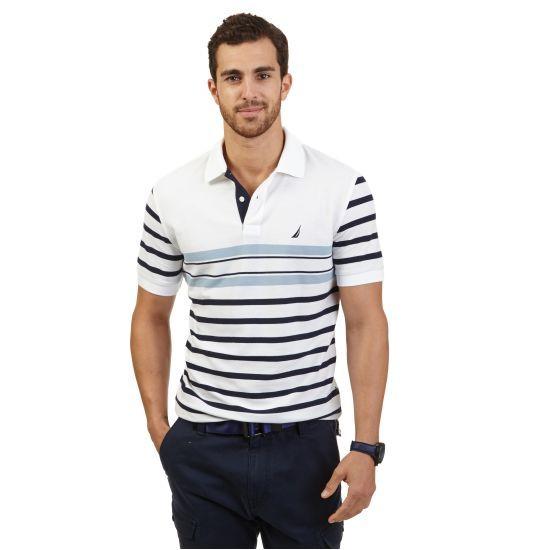Multi Stripe Performance Deck Polo Shirt 21f3ec2323b03
