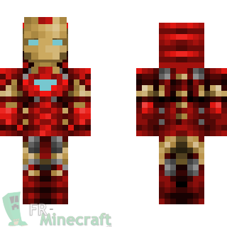 minecraft skins iron man   Minecraft : Skin Minecraft : Iron