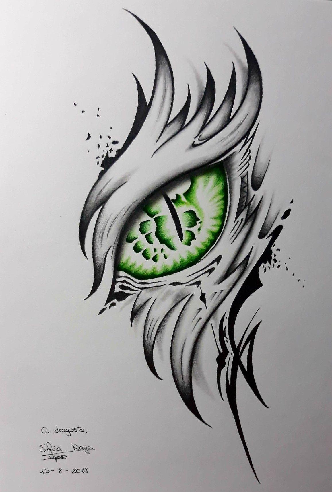 Dragon Dragon eye drawing, Dragon sketch