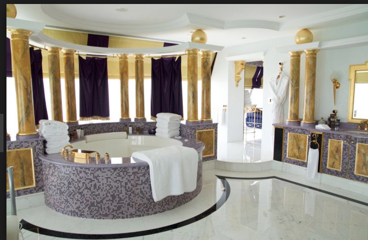 Royal In Purple And Gold With Images Bathroom Design Luxury