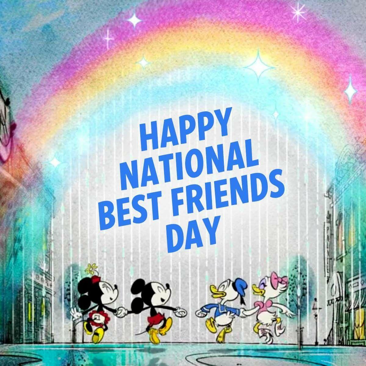 Happy National Best Friends Day National Best Friend Day Best