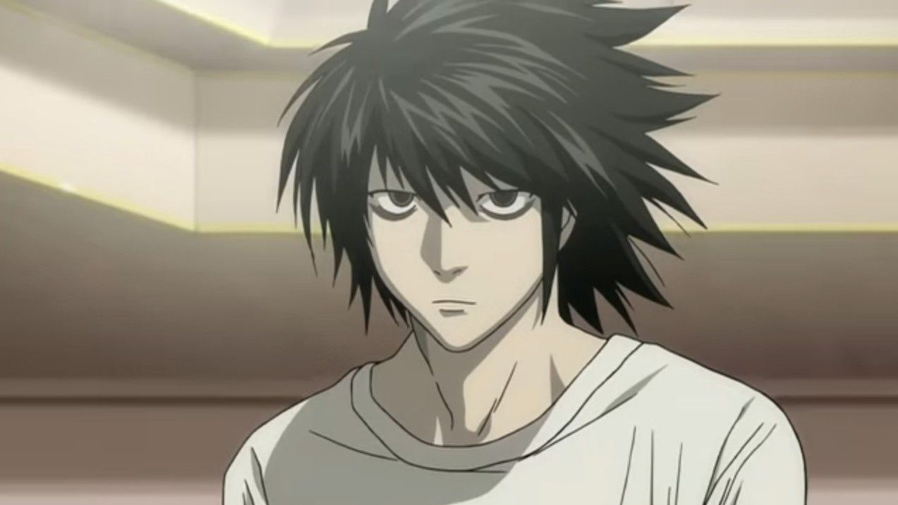 L Lawliet  Death Note in 5  Death note l, Death note, Anime