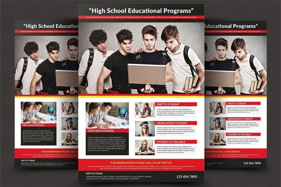 high school flyer templates school high templates flyer flyer