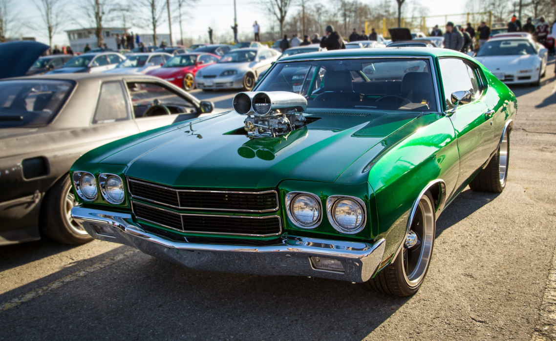 Badass Chevy Chevelle, More Muscle Cars Here >> http://musclecarshq ...