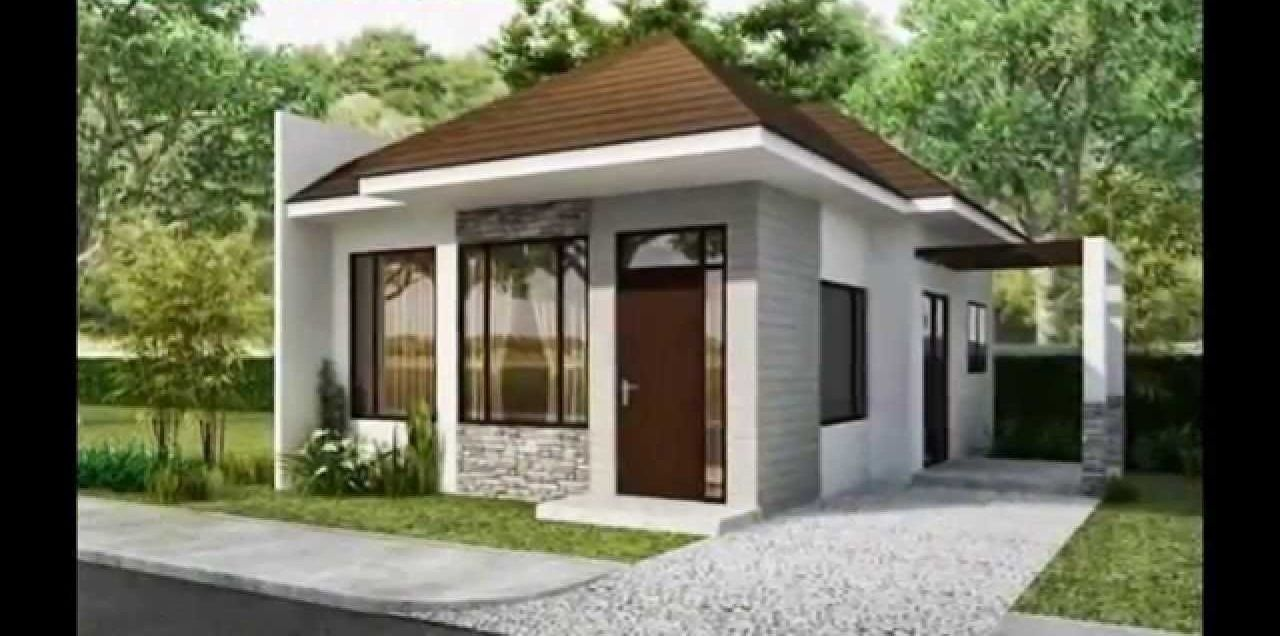 30 Minimalist Beautiful Small House Design For 2016 Small House Design Small House Design Philippines Small House Design Exterior