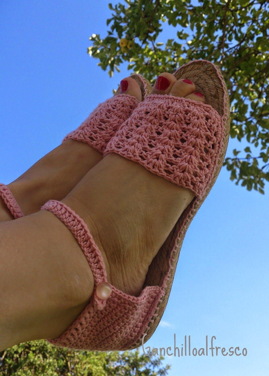 Ganchillo al fresco: Ganchillo | CROCHET SOCK & FOOTWEAR | Pinterest ...