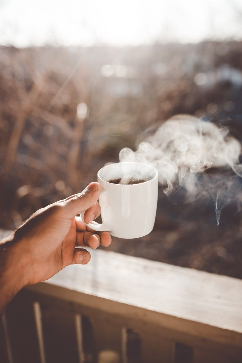 Person Holding White Ceramic Cup With Hot Coffee Coffee Pictures