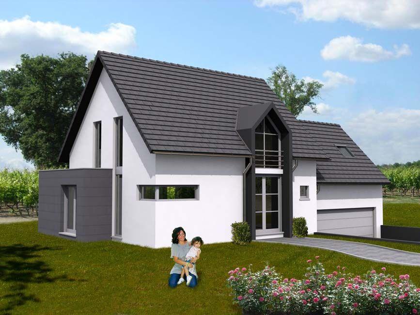 Modèle de #construction de #maison Kappa Projets de construction