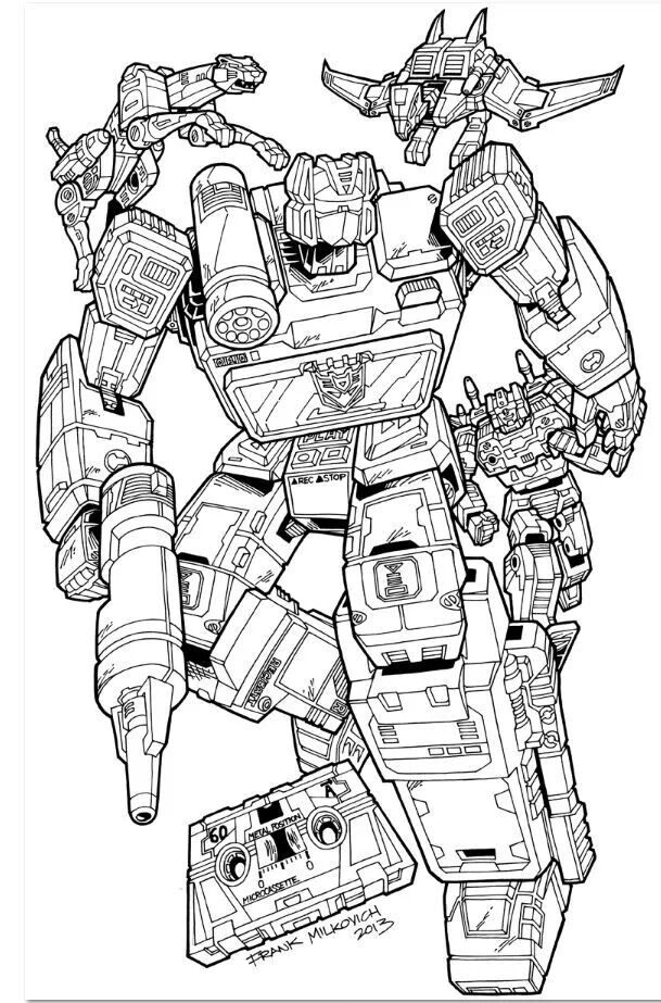 Soundwave Transformers Artwork Transformers Coloring Pages Transformers Art