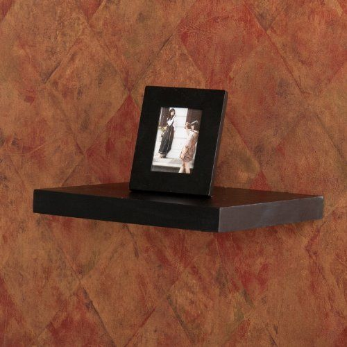 Wall Floating Display Shelf 10 Black By Furnituremaxx 29 99 Easy As Hanging A Pict Floating Shelves Black Floating Shelves Wall Mounted Shelves