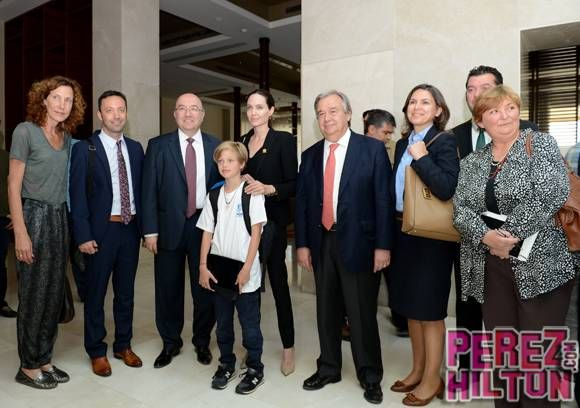 Angelina Jolie Brings Shiloh Jolie-Pitt Along To Celebrate World Refugee Day In Turkey!