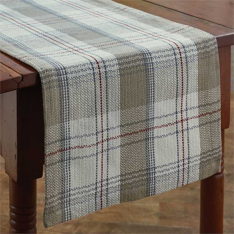 Landen Table Runner 15 x 72 Placemats, Country farmhouse