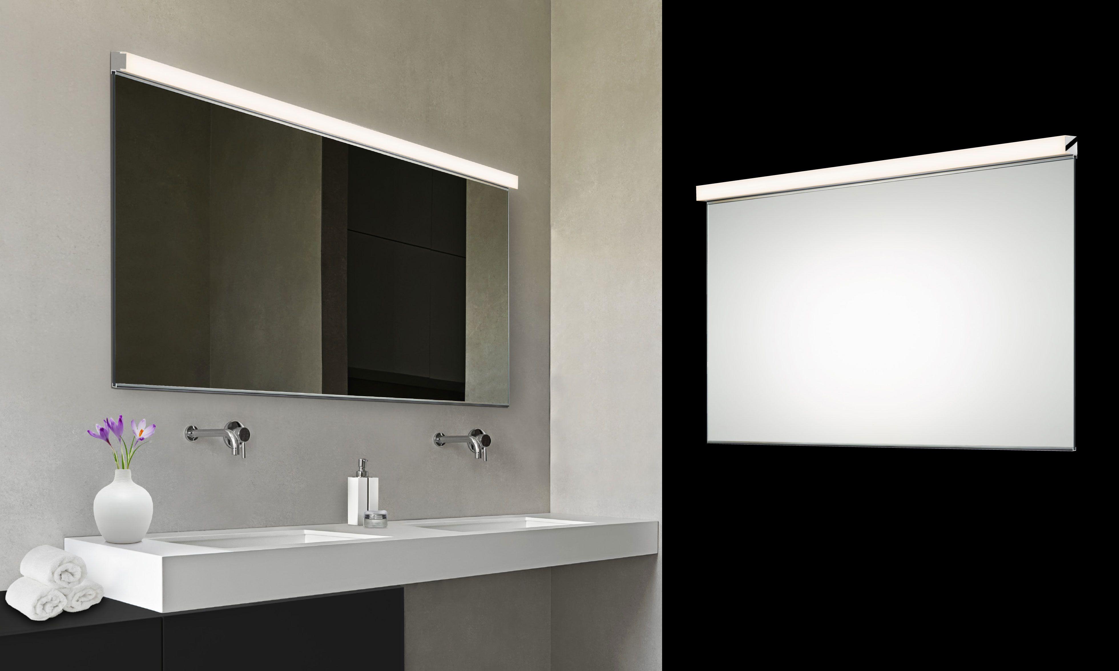 Vanity Slim Horizontal Led Mirror Kit 2552 01 Sonneman Lighting