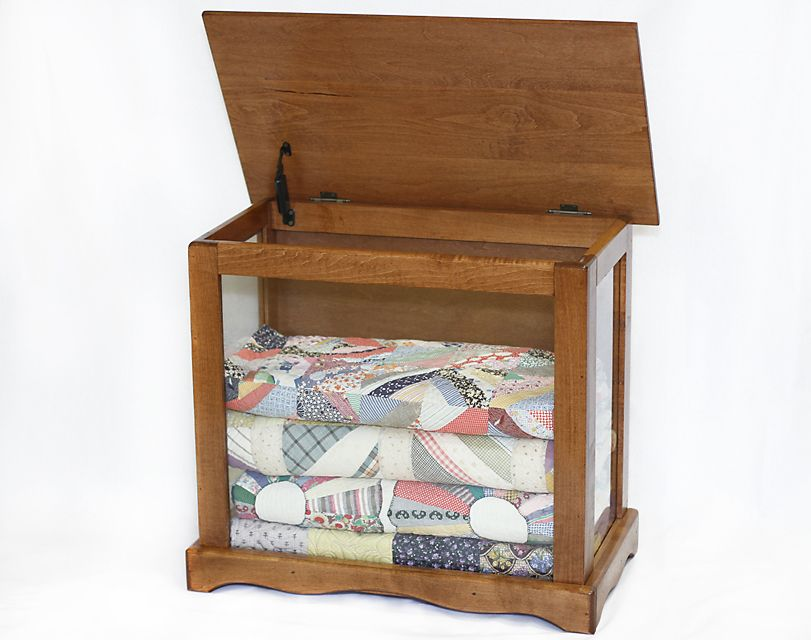 side tables for quilts | English Chestnut Stain Shown in Picture ... : quilting tables and cabinets - Adamdwight.com