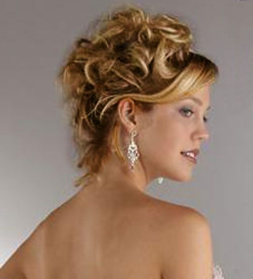 Wedding Hairstyles For Long Curly Hair Updos : Mid length up dod wow.com image results hair and beauty