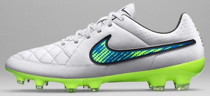 Nike White 2015 Football Boots Pack: Shine Through