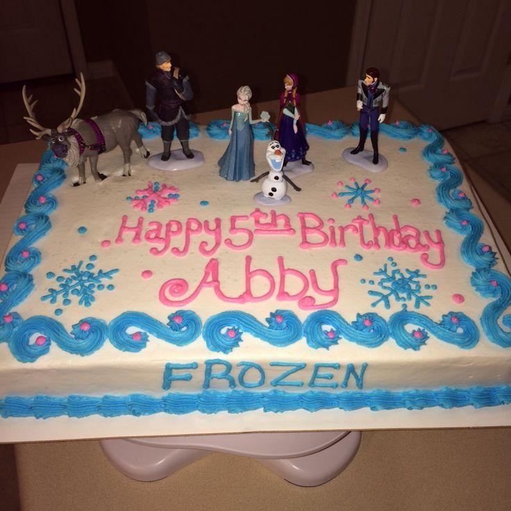 Disney Frozen Ice Cream Cake Birthday Cakes Cakepins.com