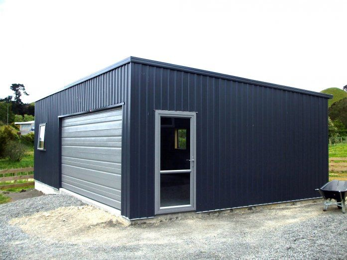 Good Shed But Need Carport On Other Side Flat Roof Shed Small Shed Plans Garage Design