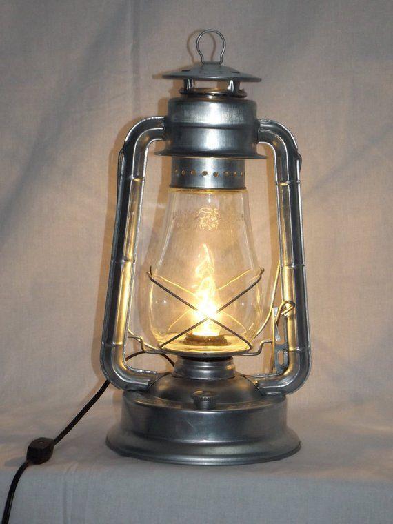 Large Electric Lantern Lamp, Electric Lantern Table Lamps