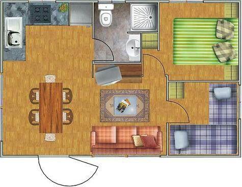 Casa com 30m2