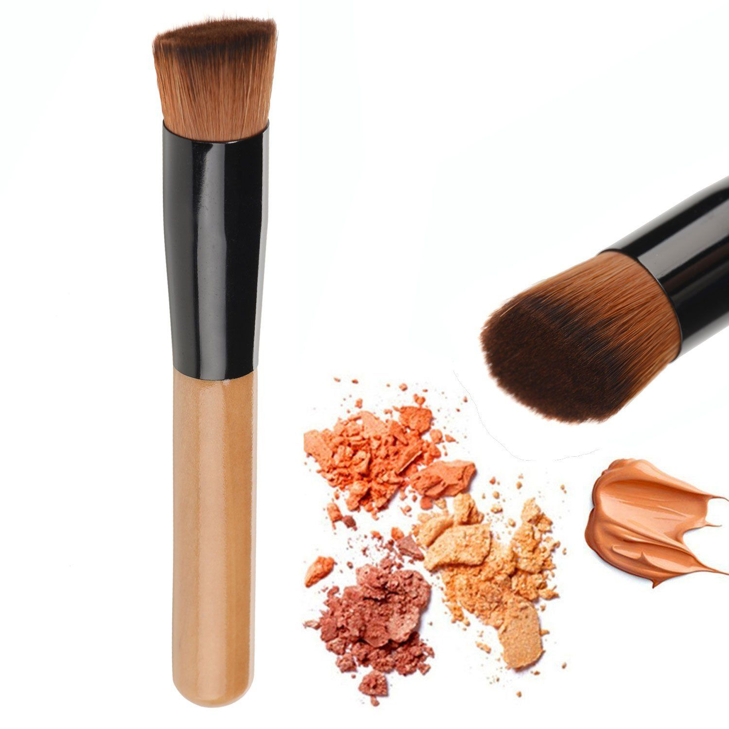 Kaith Synthetic Face Liquid Foundation Makeup Brush Flat