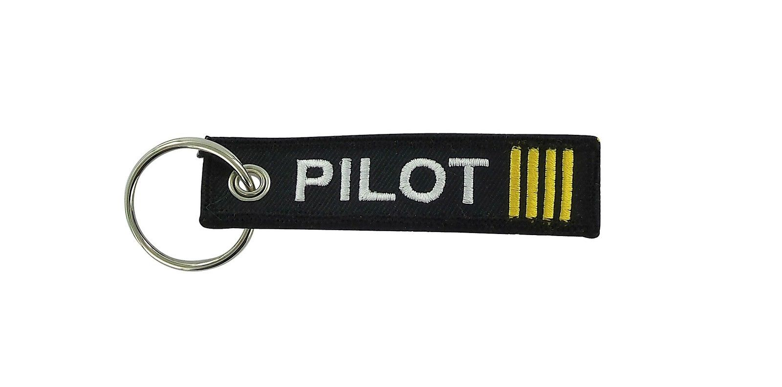 c90a299c39e  5.75 AUD - Remove Before Flight Keyring Keychain Captain Gold Crew 4 Gold Stripe  Pilot  ebay  Collectibles