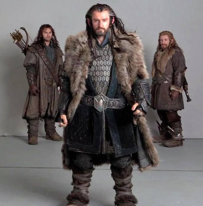 thorin fili and kili fili kili and thorin oakenshield