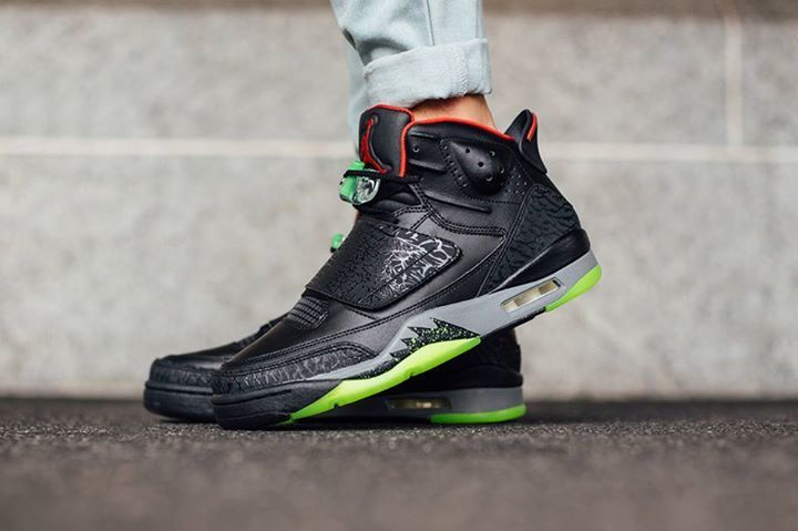 a39a03630a8 ... cheap on foot look at the nike air jordan son of mars yeezy black.  available
